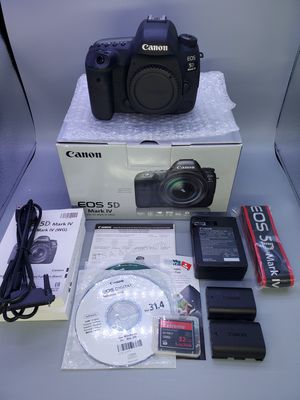 Canon 5d mark IV 8k clicks >READ< for Sale in Glendale Heights, IL