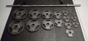 Fitness Gear 300lb weight set for Sale in Chino Hills, CA