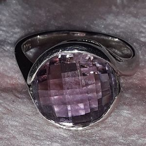 Amethyst Ring .925 silver for Sale in NEW PRT RCHY, FL