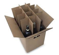12 bottle shipping boxes for wine or beer for Sale in Tampa, FL