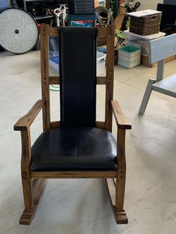Wood rocker for Sale in Prineville,  OR