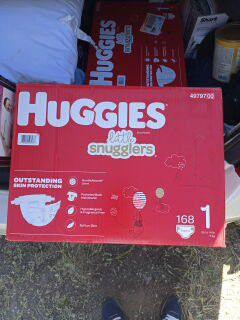 Huggies little snugglers 1 for Sale in Salt Lake City, UT