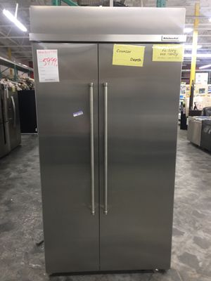 New KitchenAid Refrigerator Stainless Built in for Sale in Chino Hills, CA