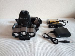 Garberiel Super Bright 5 x T6 LED Rechargeable Headlight for Sale in San Diego, CA
