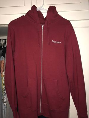 Supreme zip up for Sale in San Diego, CA