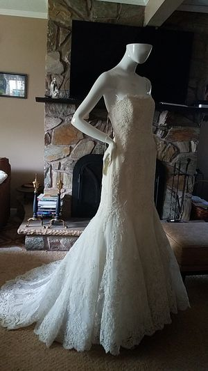 New ivory wedding dress for Sale in Staten Island, NY