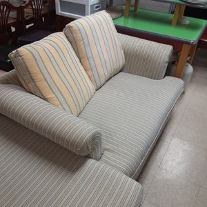 Loveseat Sofa Pull Out Sleeper 2-Piece With Storage Space for Sale in Portland, OR