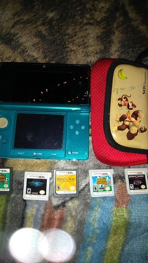 Nintendo 3ds including games and case for Sale in Arvada, CO