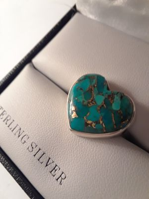 Turquoise Sterling Silver Ring for Sale in Sparks, NV