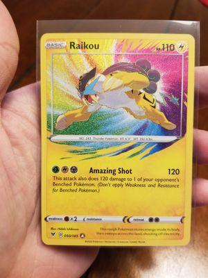 Raikou Amazing Rare Vivid Voltage Pokemon for Sale in Duncan, SC