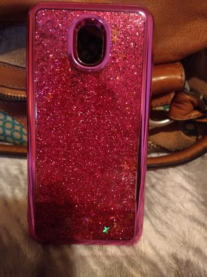 Pink glitter phone case for Sale in Newton, IA
