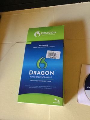 Dragon speech recognition software for Sale in Houston, TX
