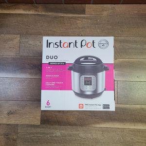 Instant Pot Duo Multi-Use Pressure Cooker for Sale in Philadelphia, PA