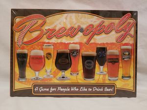 """NEW! BREW-OPOLY BOARD GAME, """"A GAME FOR PEOPLE WHO LIKE TO DRINK BEER"""" for Sale in Scottsdale, AZ"""