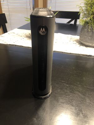 Motorola modem and router for Sale in Bonney Lake, WA