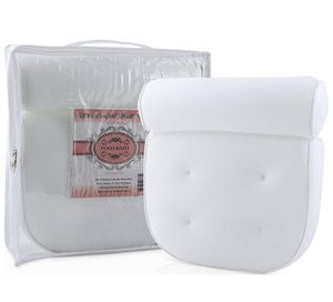 White Bath Pillows For Tub | Luxury Bathtub Pillow | Comfortable Pillow with Suction Cups for Bath, Jacuzzi, Hot Tub, n Spa | Pillows for Neck n Shou for Sale in Birmingham, AL