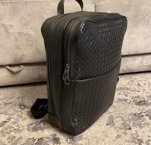Bottega Veneta Mens Backpack Black $3250 retail for Sale in Boca Raton, FL