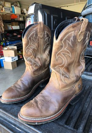 Work boots western style size 9.5 HH for Sale in San Diego, CA