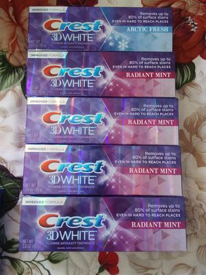 Crest 3d white for Sale in Los Angeles, CA