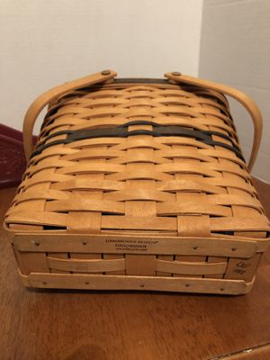 Longaberger collector membership basket and sleigh for Sale in Ephrata, PA