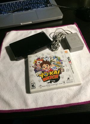 Nintendo 3DS with 3 games. for Sale in El Monte, CA