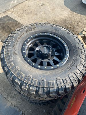 Method wheels and tires for Sale in Chino, CA