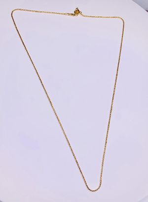 14K Yellow Gold Wheat Chain 2.5 mm for Sale in Palm City, FL
