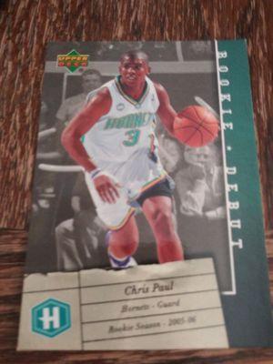 Chris paul rookie debut card for Sale in Wichita, KS