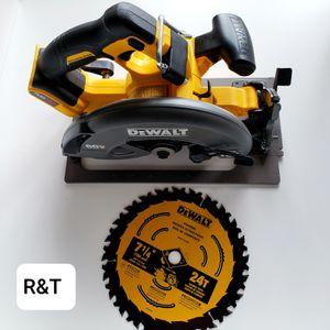 DEWALT FLEXVOLT 60-Volt MAX 7-1/4 in. Cordless Brushless Circular Saw (Tool-Only) for Sale in Fullerton, CA