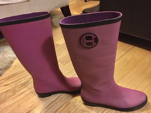 Long Cole Haan Rain Boots (10) Fuchsia for Sale in UPR MARLBORO, MD