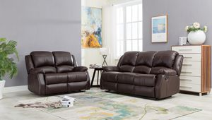 Leather Sofa and Loveseat for Sale in Silver Spring, MD