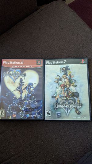 PS2 Kingdom of Hearts 1 and 2 for Sale in Long Beach, CA
