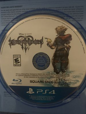 Kingdom hearts PS4 game for Sale in Tampa, FL