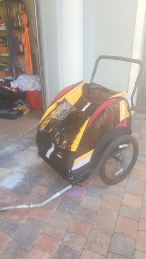 One Copilot pull behind bike trailer for Sale in Deerfield Beach, FL