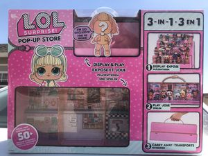 Lol surprise pop up store 3 in 1 $18 for Sale in Juniper Hills, CA
