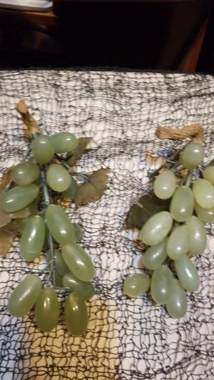 Jade grapes hand carved for Sale in Hillsboro, OR