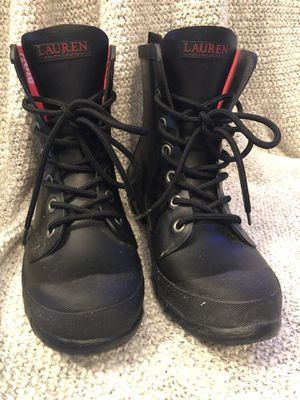 Ralf Lauren Rain Boots, Size 7 for Sale in Houston, TX