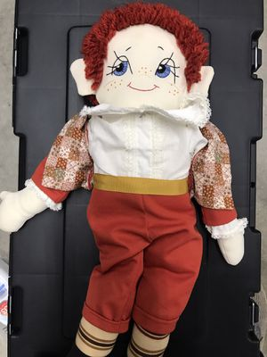 Raggedy Andy - vintage raggedy Ann Anne Andi doll for Sale in Greensboro, NC