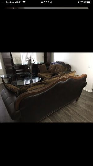 Two sofa (no tables included)smoke and pets free for Sale in Winter Haven, FL