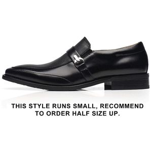 Black dress shoes for men size 7.5 for Sale in Los Angeles, CA
