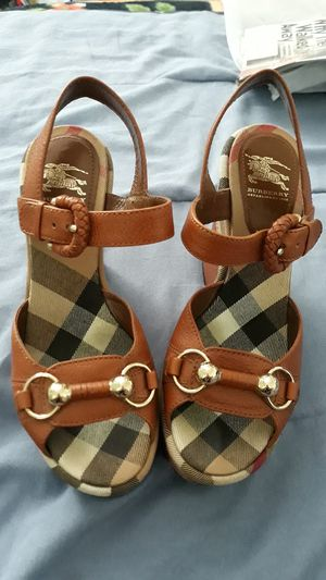 Authentic Burberry womens shoes size 36.5 for Sale in San Jacinto, CA