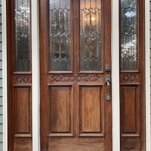 Old Solid Wood Front Door for Sale in Lincoln, RI