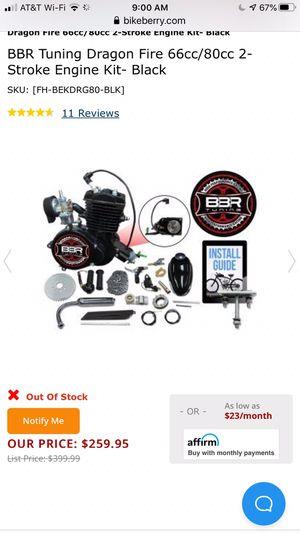 New bike motor for Sale in Waddell, AZ