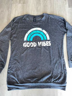 Good Vibe long sleeve shirt with pockets for Sale in Moyock, NC