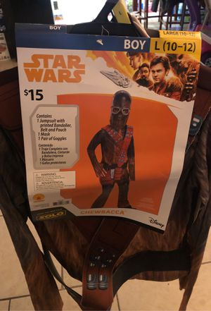 Star Wars Chewbacca Costume New for Sale in Houston, TX