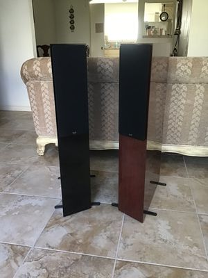 Made in USA NHT 2.9 audiophile 4 way biamp speakers gloss piano finished for stereo or theater surround audio for Sale in Stafford, TX