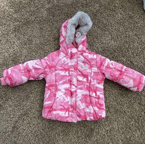 Brand New Zero Xpsoure Pink Camouflage Snow Jacket - Size S/4 - $25 for Sale in Scottsdale, AZ