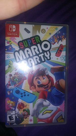 Super mario party for the nintendo switch for Sale in North Olmsted, OH