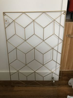 Large Wall Picture Holder with Clips for Sale in San Diego, CA