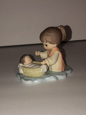 Precious moments baby Moses for Sale in Corona, CA